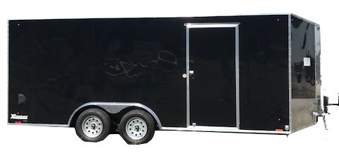 Cargo Express 8.5' Flat top V-nose Car Hauler